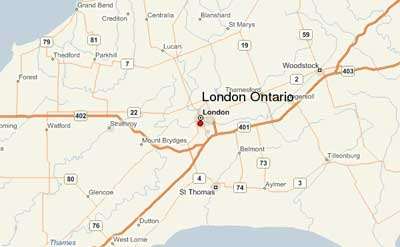 London Ontario Canada The Forest City